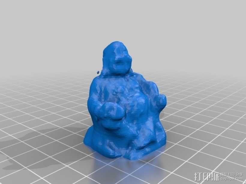 大佛 3D模型  图1