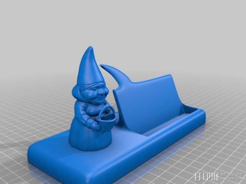 慈祥的侏儒奶奶 3D模型  图1