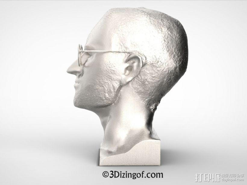 乔布斯 头像 3D模型  图5