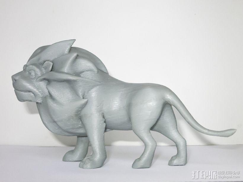 雄伟的狮子 3D模型  图6