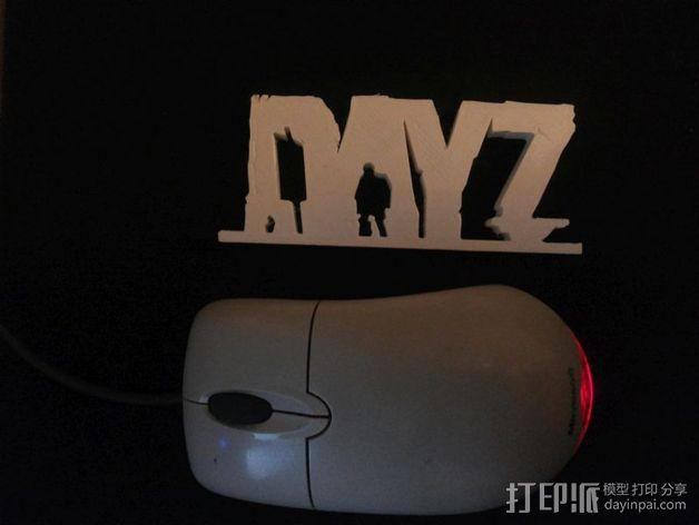 DayZ 标志 3D模型  图3