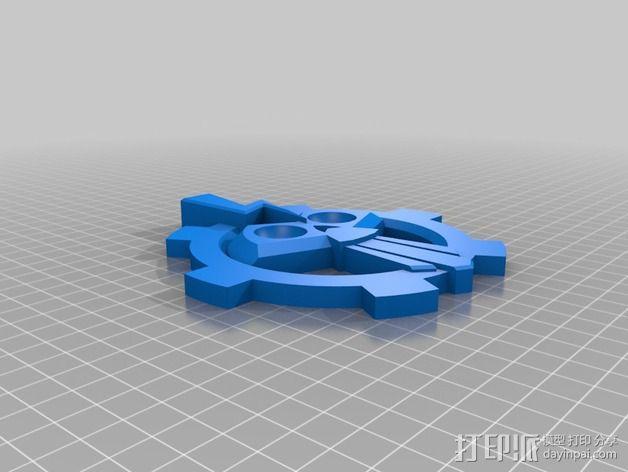 游戏《荒野星球》流放者 标志 3D模型  图2