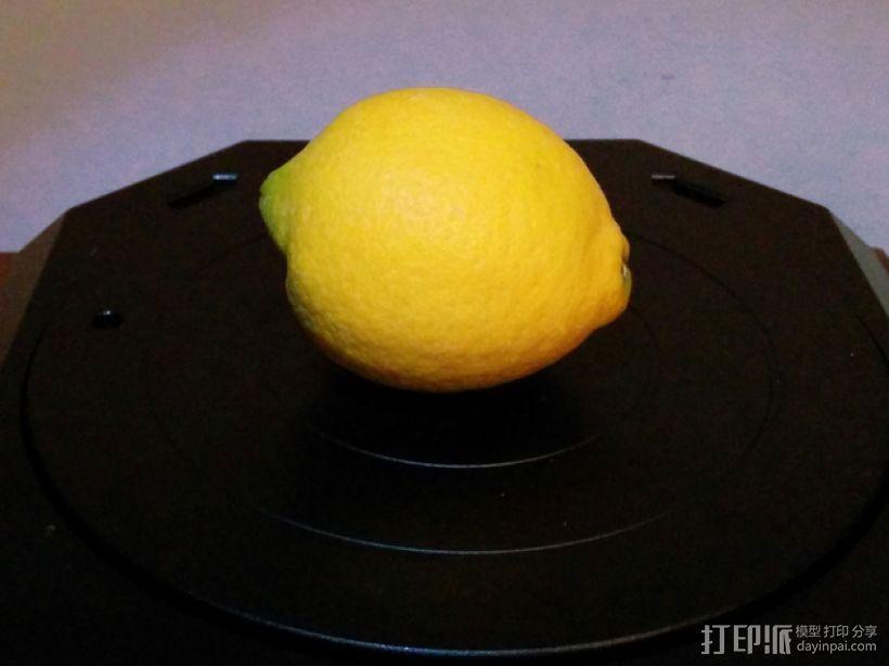 一个柠檬 3D模型  图1