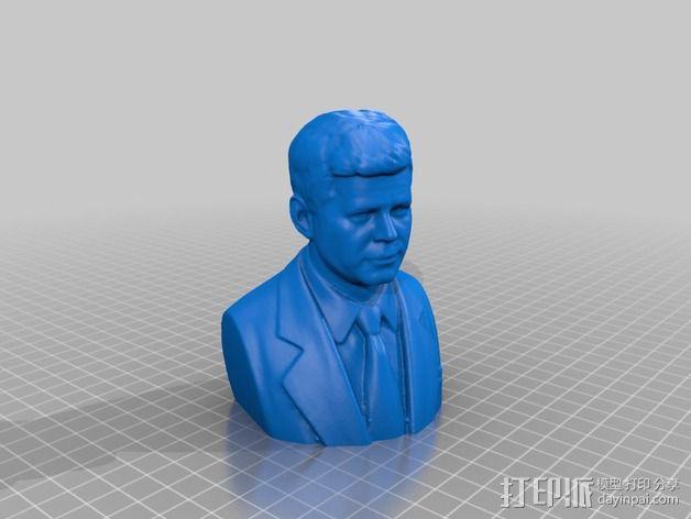 约翰.肯尼迪 3D模型  图2