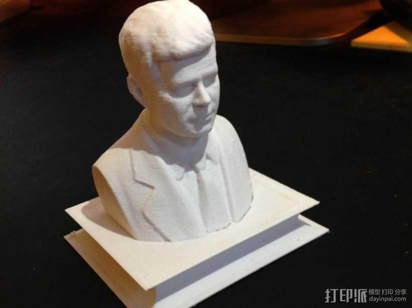 约翰.肯尼迪 3D模型  图1