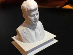 约翰.肯尼迪 3D模型