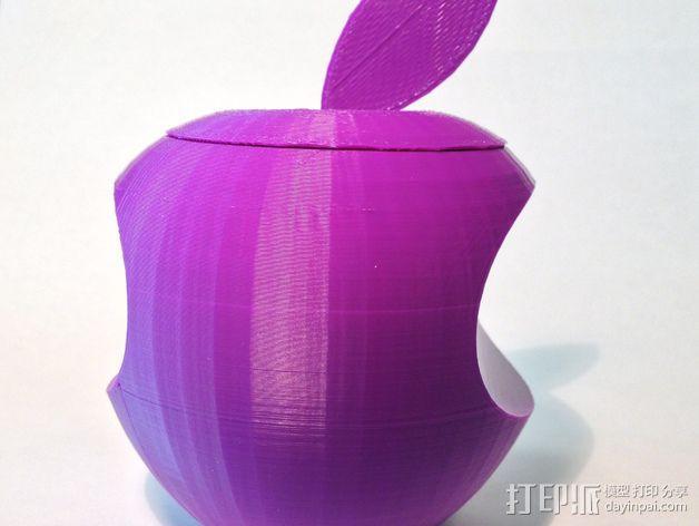 美国动画《辛普森一家》中苹果手机Mapple标志 3D模型  图1