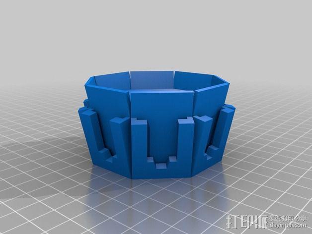 镂空小球 3D模型  图3