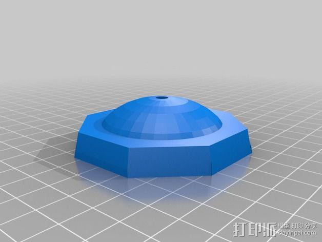 镂空小球 3D模型  图2