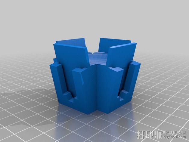 镂空小球 3D模型  图6