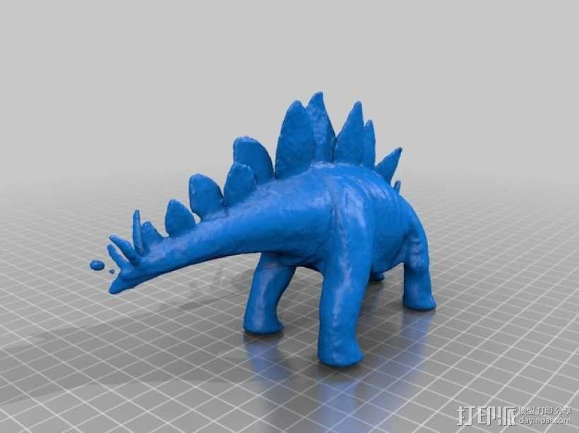 恐龙  3D模型  图2