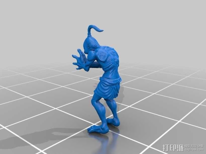 游戏《奇异世界》亚伯 3D模型  图2
