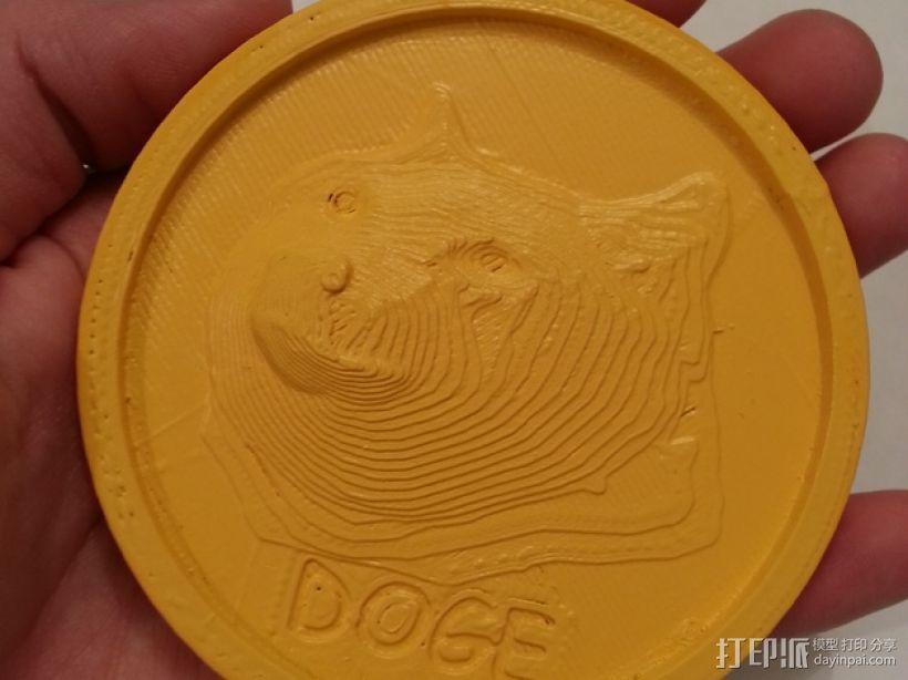 狗狗币  3D模型  图2