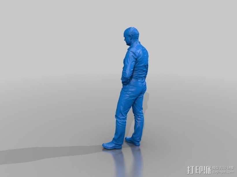 全身扫描制作的人偶 3D模型  图2