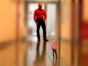 全身扫描制作的人偶 3D模型