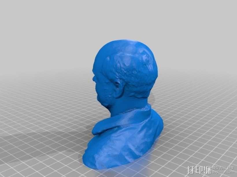 全身扫描制作的人偶 3D模型  图3