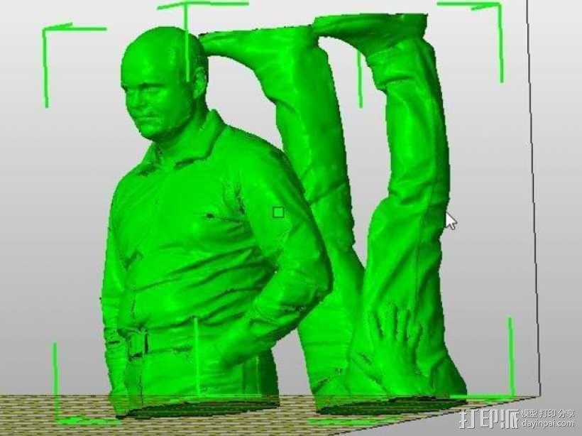 全身扫描制作的人偶 3D模型  图10