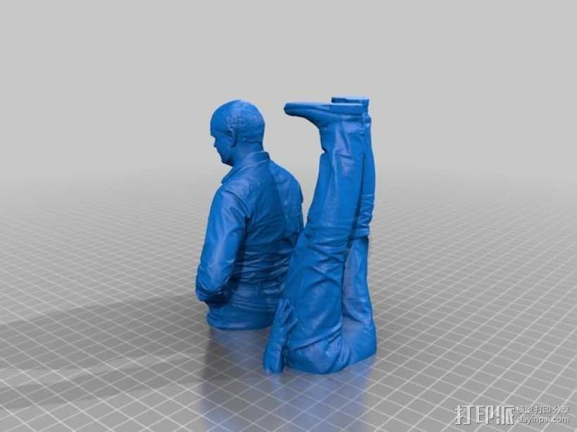 全身扫描制作的人偶 3D模型  图13