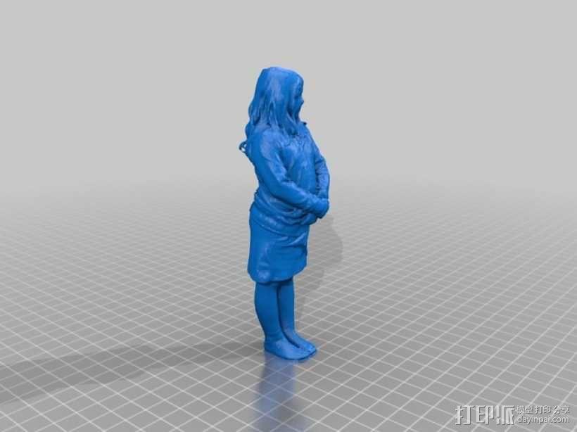 小仙女 3D模型  图3