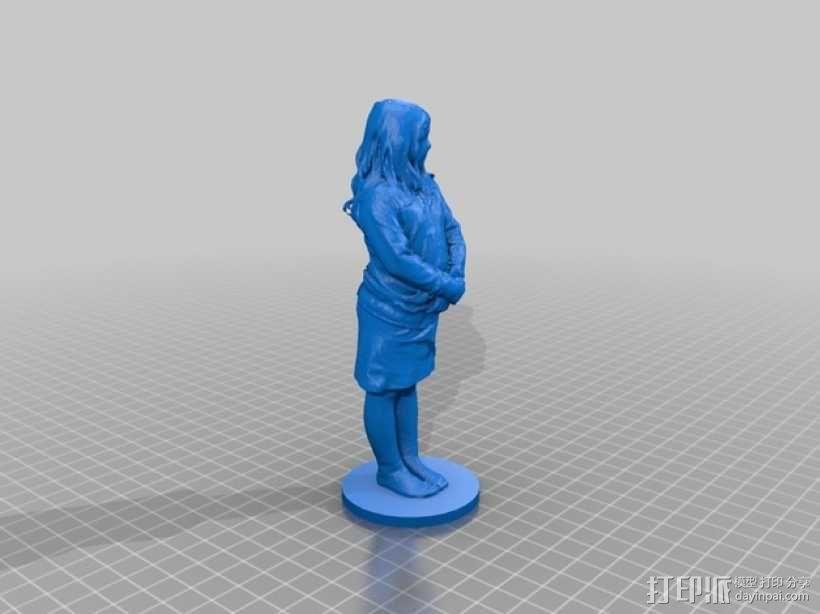 小仙女 3D模型  图5