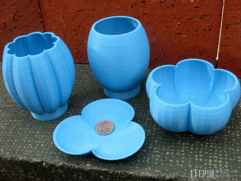 个性化花瓶/花盆 3D模型  图1
