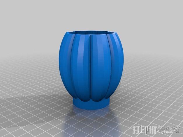 个性化花瓶/花盆 3D模型  图4