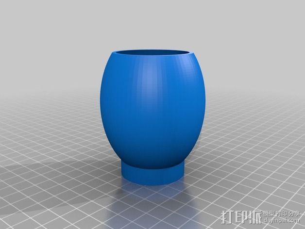个性化花瓶/花盆 3D模型  图3