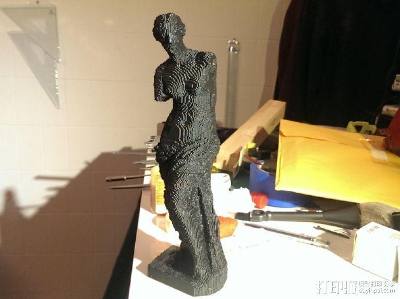 断臂维纳斯 雕塑 3D模型  图1