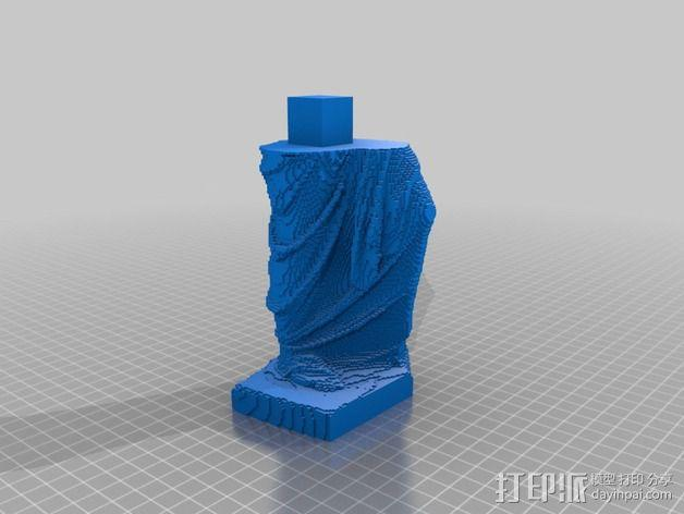 断臂维纳斯 雕塑 3D模型  图4