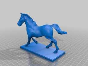 马 3D模型