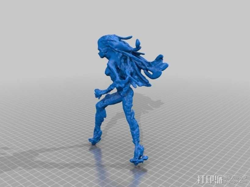刀锋女王 3D模型  图2