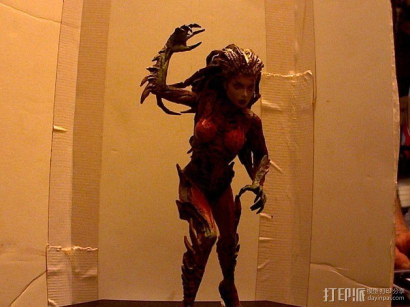 刀锋女王 3D模型  图1