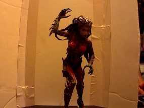 刀锋女王 3D模型