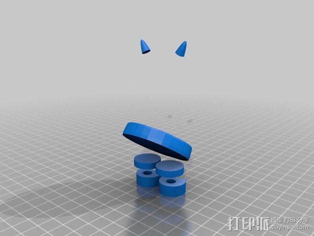 恶魔 玩偶 3D模型  图3