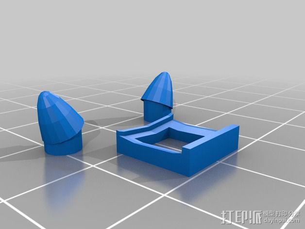 恶魔 玩偶 3D模型  图2