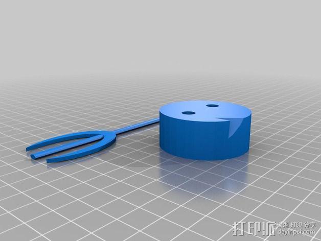 恶魔 玩偶 3D模型  图7
