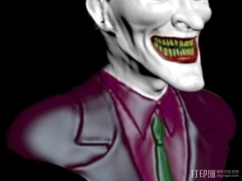 小丑 头像 3D模型  图1