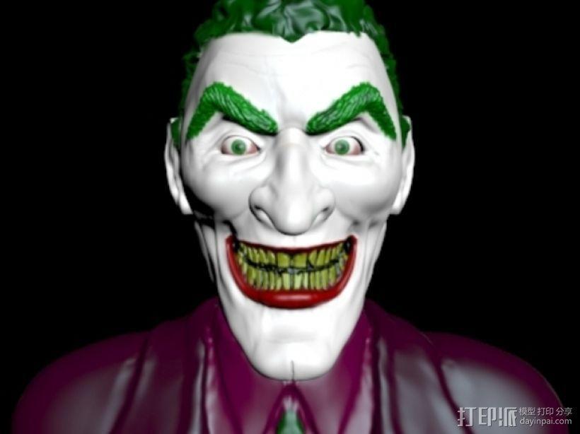 小丑 头像 3D模型  图2