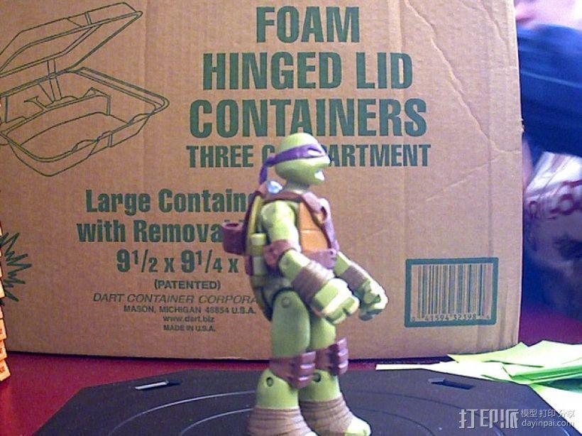 忍者神龟 3D模型  图1