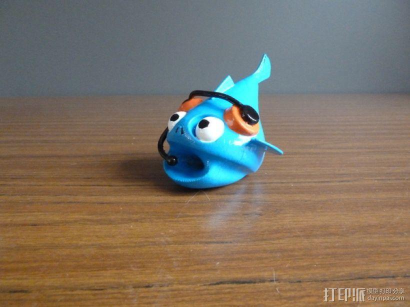 小鱼 3D模型  图1