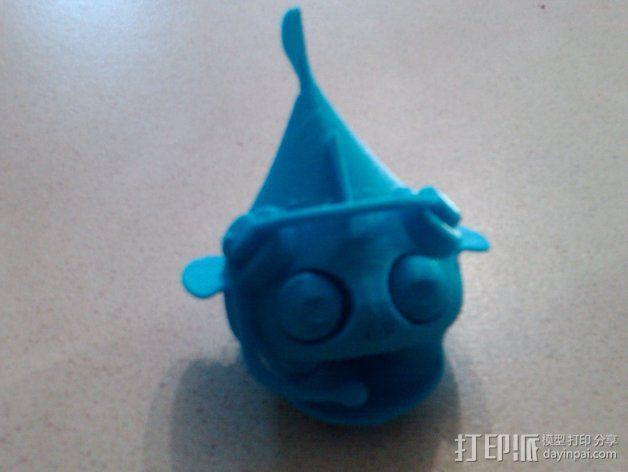 小鱼 3D模型  图5