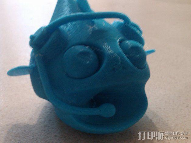 小鱼 3D模型  图3