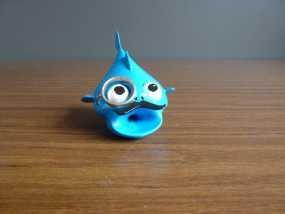 鱼先生 玩偶 3D模型