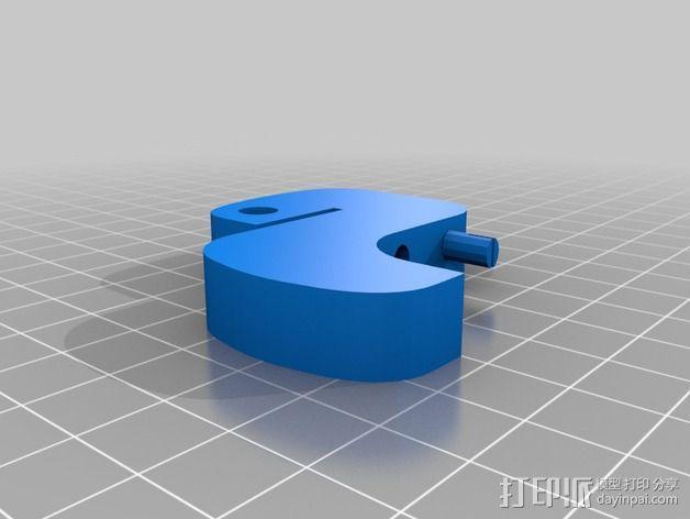 Python 计算机语言 标志 3D模型  图2