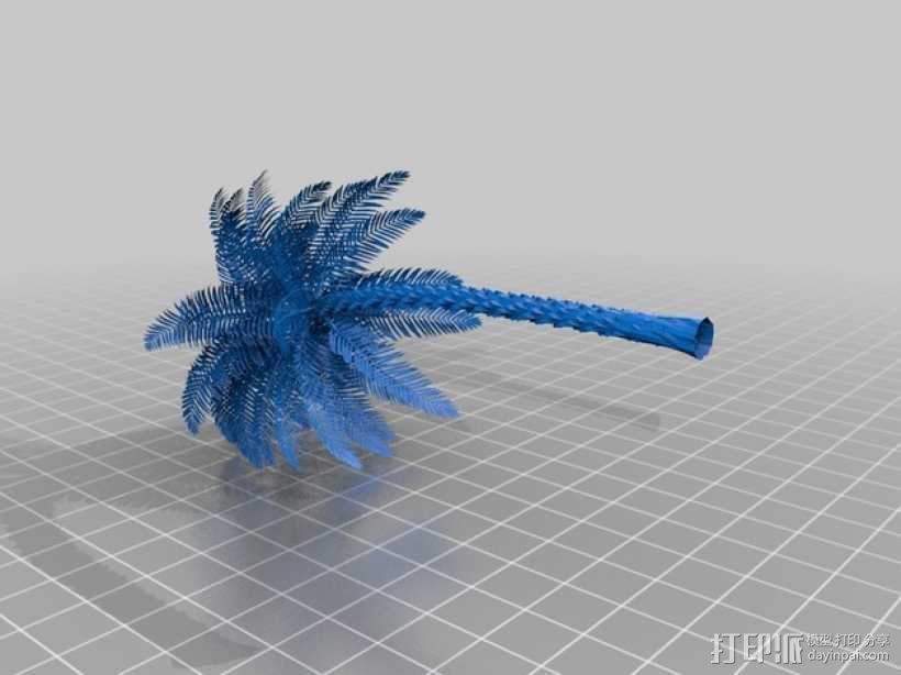 棕榈树 3D模型  图2