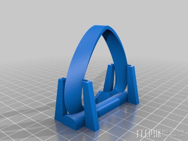 莫比乌斯带 3D模型  图2