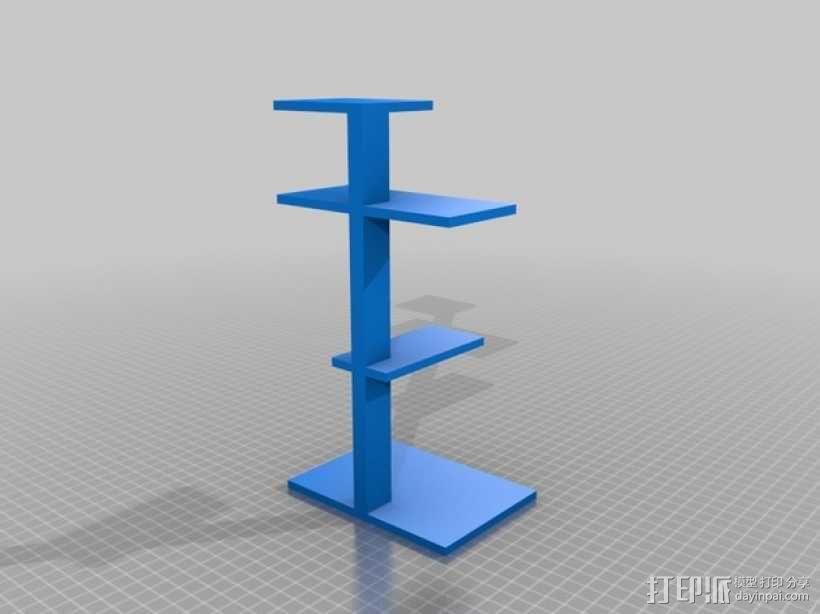 个性化小鱼 装饰品 3D模型  图2
