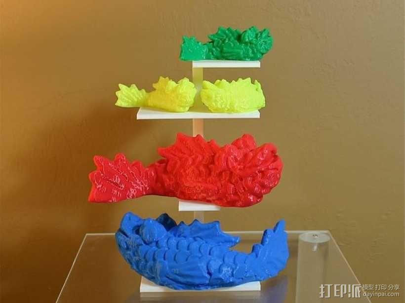 个性化小鱼 装饰品 3D模型  图1