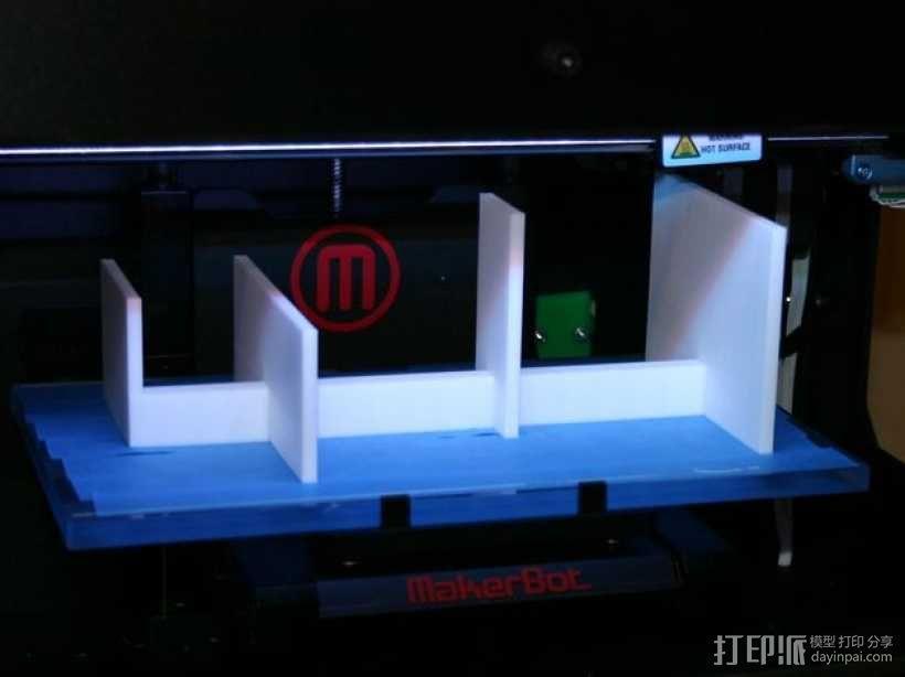 个性化小鱼 装饰品 3D模型  图3