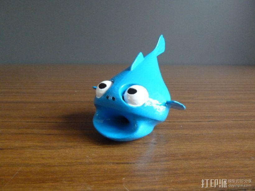 小鱼LeFishy 装饰品 3D模型  图1